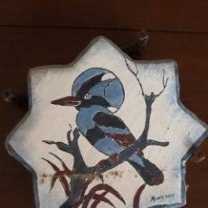 Antigüedades: ESPECTACULAR SOCARRAT PINTADO A MANO Y REGALO!!!. Lote 127787831