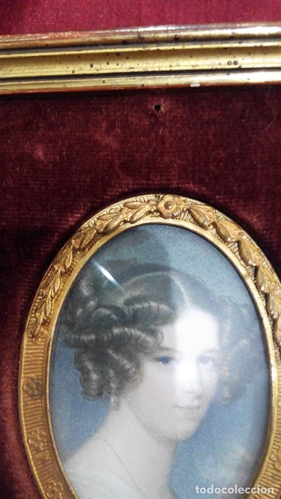 Antigüedades: Marco portafotos estilo Isabelino - Foto 2 - 127790799