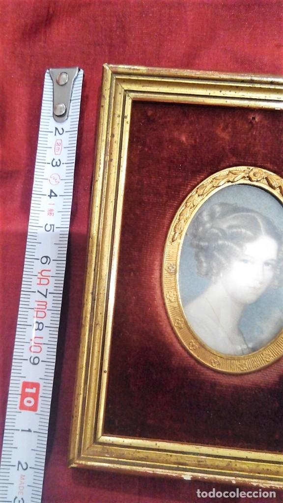 Antigüedades: Marco portafotos estilo Isabelino - Foto 4 - 127790799