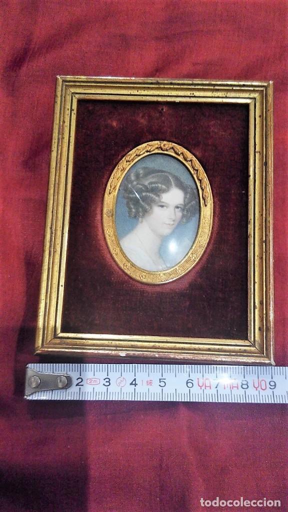 Antigüedades: Marco portafotos estilo Isabelino - Foto 5 - 127790799