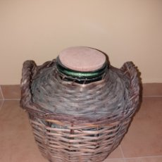 Antigüedades: GARRAFA PEQUEÑA 8 LITROS DE BOCA ANCHA.. Lote 127792402