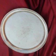 Antigüedades: BANDEJA DE ALPACA. Lote 127828179