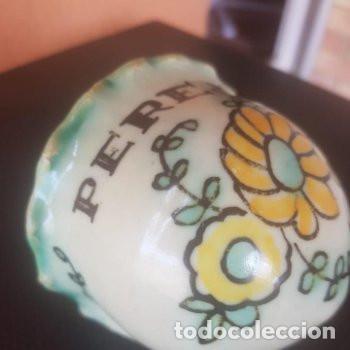 Antigüedades: ceramica cuenco para especies estilo benditera Puente del Arzobispo - Foto 2 - 127852263