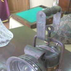 Antigüedades: FAROL DE MANO DE PETROLEO EN BUEN ESTADO.. Lote 127853487