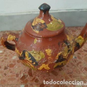 CERAMICA POPULAR: TETERA VIDRIADA (Antigüedades - Porcelanas y Cerámicas - Otras)