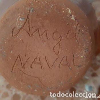 Antigüedades: ceramica popular: tetera vidriada - Foto 4 - 127853775