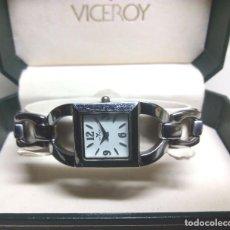Relojes - Viceroy: RELOJ VICEROY DE CUARZO PARA MUJER, EN SU ESTUCHE. Lote 127862723