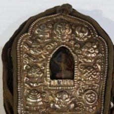 Antigüedades: RELICARIO TIBETANO. Lote 127868755
