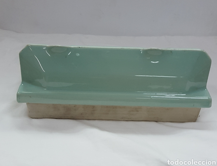 Antigüedades: Jabonera de porcelana - Foto 2 - 159917770