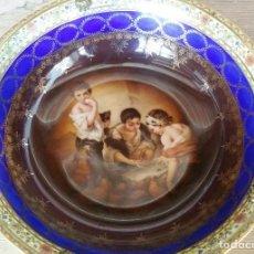 Antigüedades: PLATO HONDO DE PORCELANA. Lote 127897879