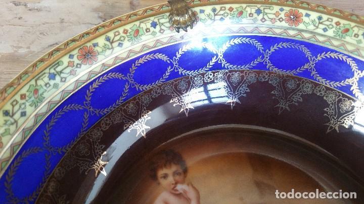 Antigüedades: Plato hondo de porcelana - Foto 3 - 127897879