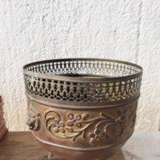 Antiquitäten - Centro macetero metal - 127900434