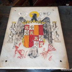 Antigüedades: ESCUDO ÁGUILA DE SAN JUAN. Lote 127939699