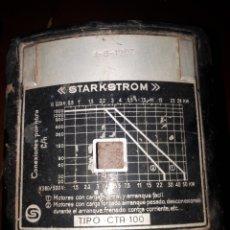 Antigüedades: CONTADOR STARKSTROM. Lote 127960186