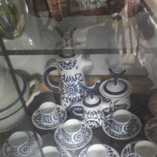 Antigüedades: TOXO JUEGO CAFÉ 1976 SARGADELOS COMPLETO 12 SERVICIOS CON CAJA ÉPOCA TOXO. Lote 127962660