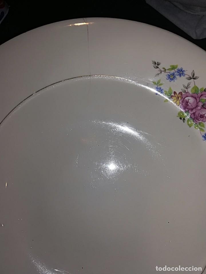 Antigüedades: Preciosa Vajilla porcelana Cartuja de Sevilla circa años 40 - Foto 15 - 127889287