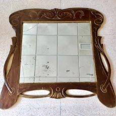 Antigüedades: PRECIOSO ESPEJO ART DECO.. Lote 128010519
