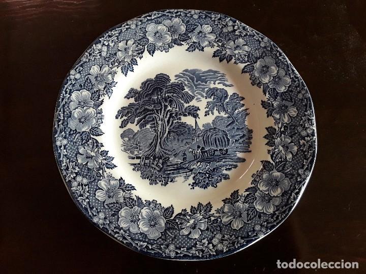 PLATO PORCELANA WEDGWOOD (Antigüedades - Porcelanas y Cerámicas - Inglesa, Bristol y Otros)