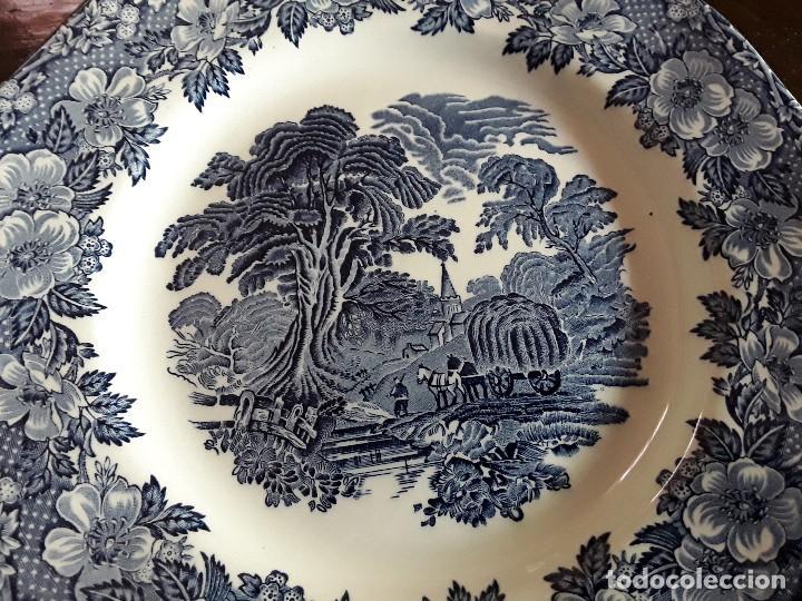 Antigüedades: Plato porcelana Wedgwood - Foto 2 - 128049759