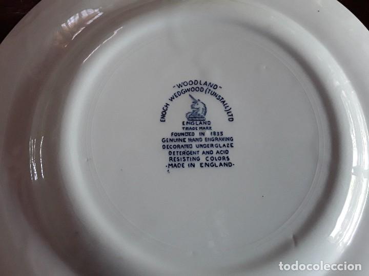 Antigüedades: Plato porcelana Wedgwood - Foto 4 - 128049759