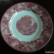 Antigüedades: PLATO PORCELANA INGLESA WOODS. Lote 128050503