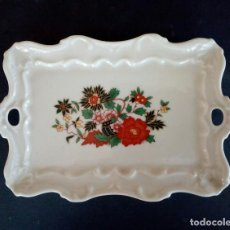 Antigüedades: BANDEJA PORCELANA CAPEANS.. Lote 128069203