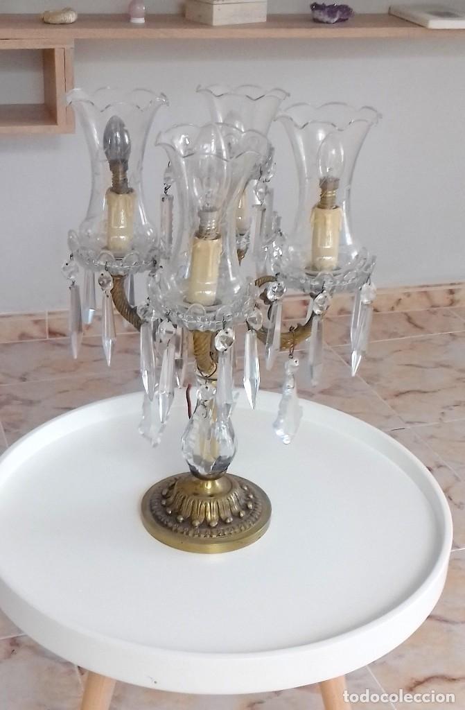CANDELABRO (Antigüedades - Iluminación - Lámparas Antiguas)