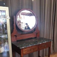 Antigüedades: BONITO TOCADOR ANTIGUO - CON ESPEJO - ART DECO - MÁRMOL - (18251)-ENVIO A PENISULA 35€ !!!!. Lote 128085238