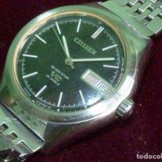 Relojes - Citizen: DIFICIL CITIZEN V2 SEVEN-STAR 1969 AUTOMATICO 25 RUBIS DOBLE CALENDARIO VINTAGE MADE IN JAPAN. Lote 128104507