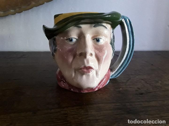 JARRA TOBY CERÁMICA INGLESA, SAM WELLER (Antigüedades - Porcelanas y Cerámicas - Inglesa, Bristol y Otros)