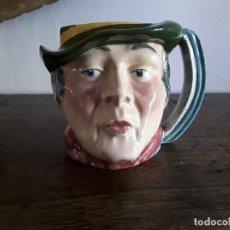 Antigüedades: JARRA TOBY CERÁMICA INGLESA, SAM WELLER. Lote 128118639