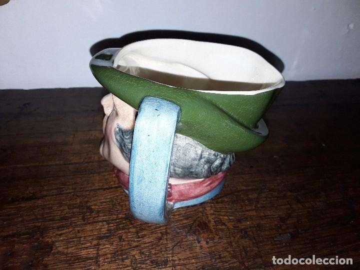 Antigüedades: Jarra Toby cerámica inglesa, Sam Weller - Foto 3 - 128118639