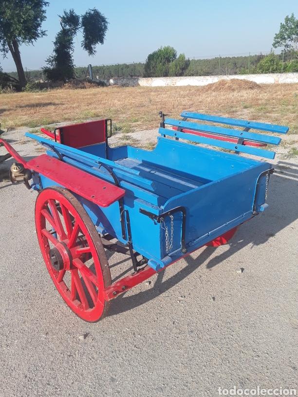 Antigüedades: Carro pequeño antiguo - Foto 2 - 128127378
