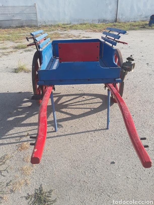 Antigüedades: Carro pequeño antiguo - Foto 3 - 128127378