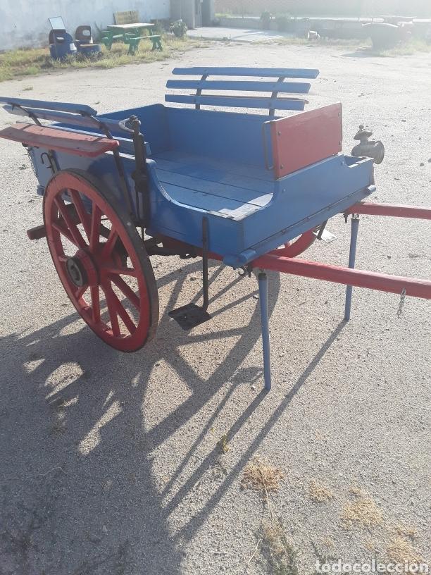 Antigüedades: Carro pequeño antiguo - Foto 4 - 128127378