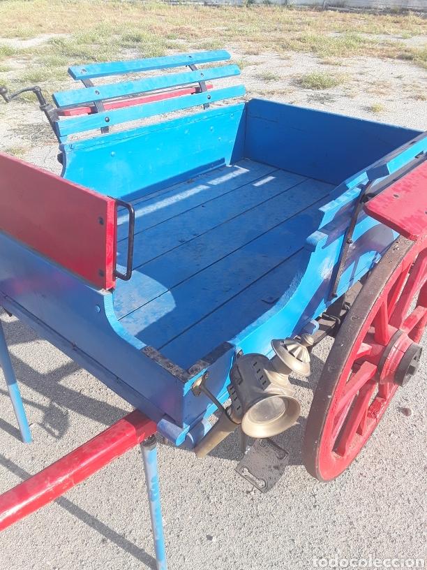 Antigüedades: Carro pequeño antiguo - Foto 5 - 128127378