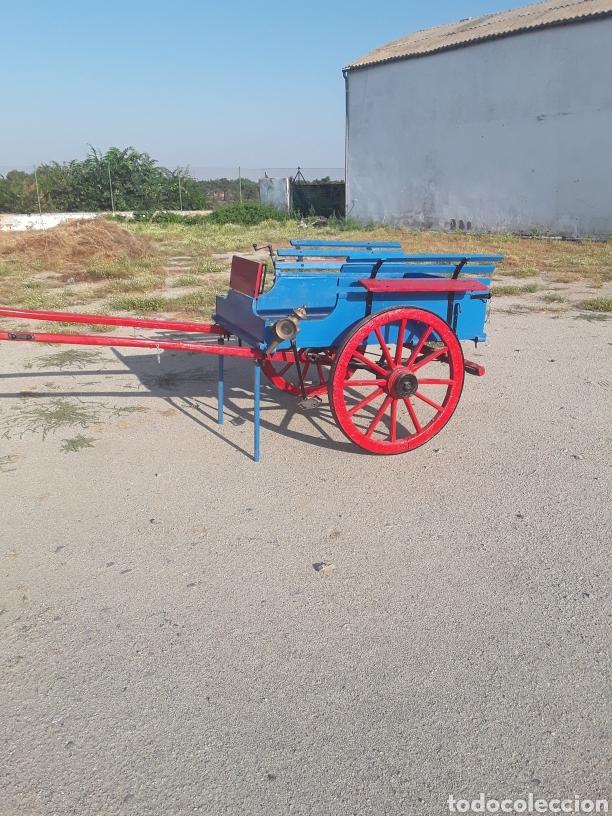 Antigüedades: Carro pequeño antiguo - Foto 6 - 128127378