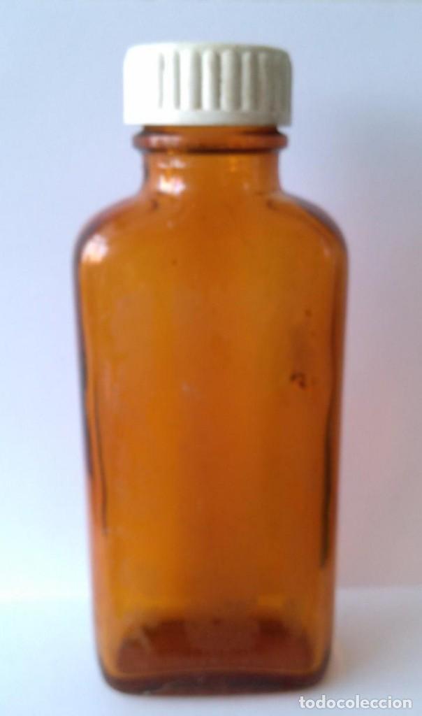 ANTIGUO FRASCO DE CRISTAL ALMIRALL COLOR OPAL (Antigüedades - Cristal y Vidrio - Farmacia )