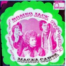 Discos de vinilo: ROMEO JACK SPINNING WHEELS OF TIME MAGNA CARTA RUEDAS GIRATORIAS DEL TIEMPO FONTANA. Lote 128179907