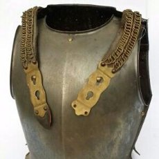 Antigüedades: ARMADURA DE CORACEROS FRANCES , FIRMADO 100% ORGINAL. Lote 128188151