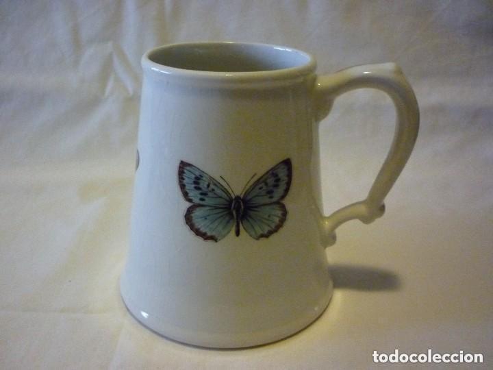 JARRA DE CERÁMICA STAFFORDSHIRE (Antigüedades - Porcelanas y Cerámicas - Inglesa, Bristol y Otros)