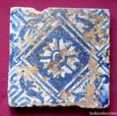 Antigüedades: AZULEJO GÓTICO S.XV. Lote 128269346