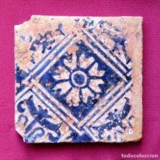 Antigüedades: AZULEJO GÓTICO S.XV. Lote 128269750