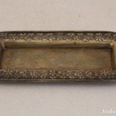 Antigüedades: BANDEJA EN PLATA MACIZA DE LEY 925MILESIMAS . Lote 128274619