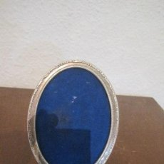Antigüedades: BONITO MARCO DE PLATA. Lote 128279987