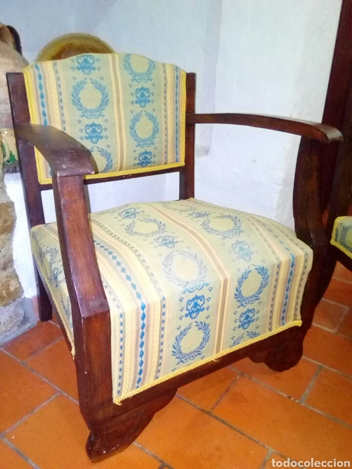 Antigüedades: Pareja de sillones art deco - Foto 4 - 128295012