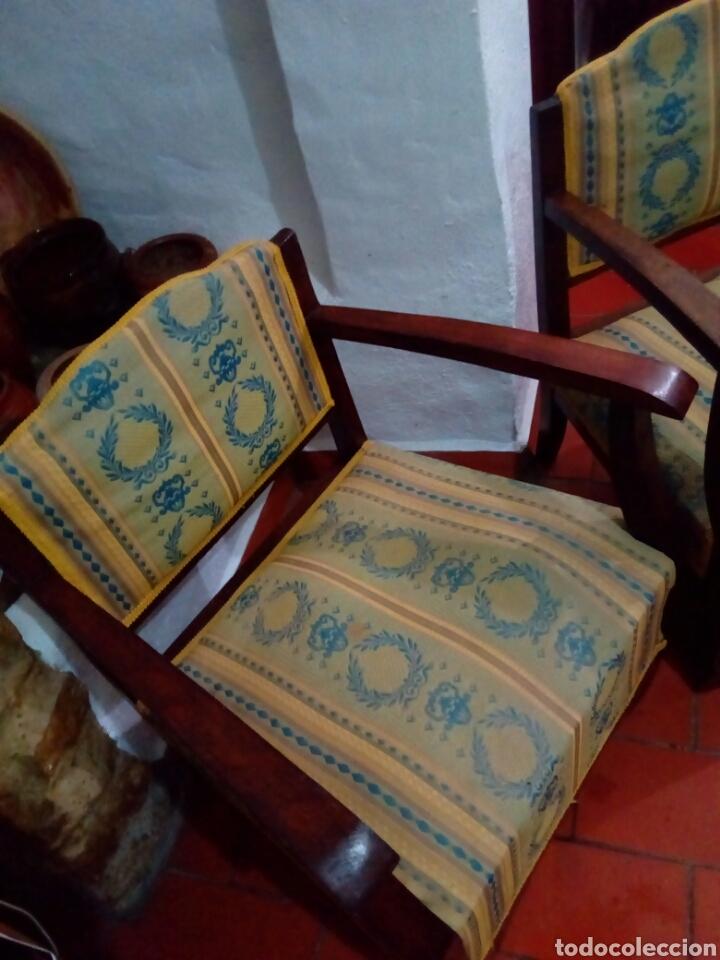 Antigüedades: Pareja de sillones art deco - Foto 6 - 128295012