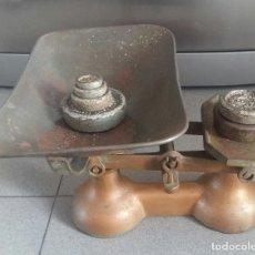Antigüedades: BALANZA INGLESA,ANTIGUA,DE HIERRO.. Lote 128297431