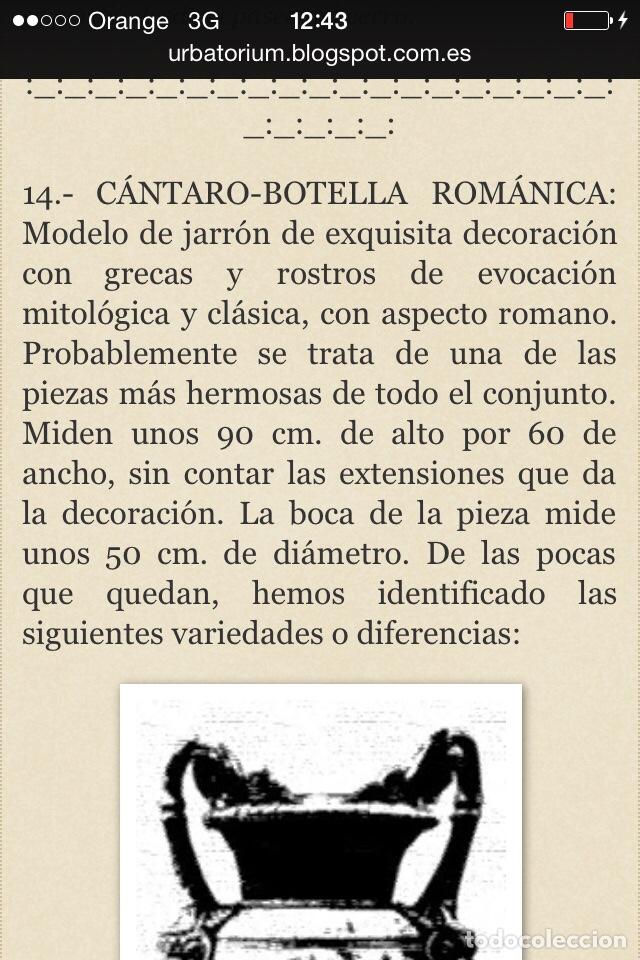 Antigüedades: Antiguo Jarrón de hierro colado - Foto 11 - 96038512