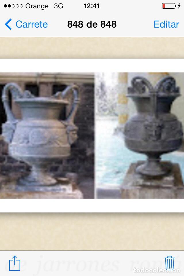 Antigüedades: Antiguo Jarrón de hierro colado - Foto 12 - 96038512